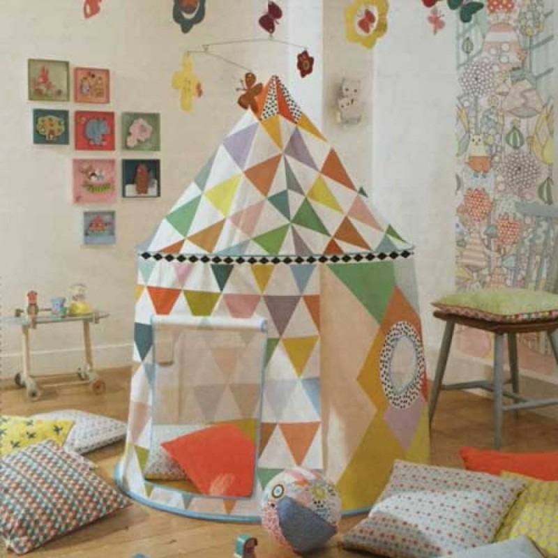 Cabaña infantil multicolor Little Big Room
