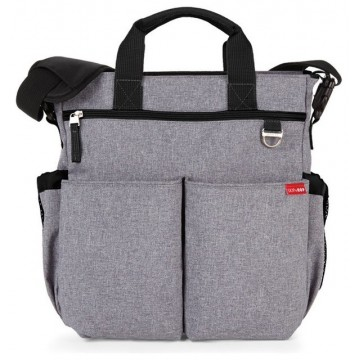 Bolso Skip Hop Duo Heather Gray