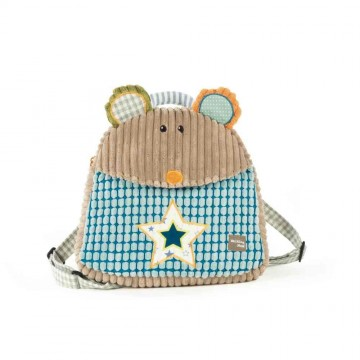 Mochila guardería ratita patchwork walking mum comprar bblandia