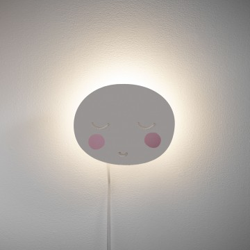 Lámpara infantil de pared Lune