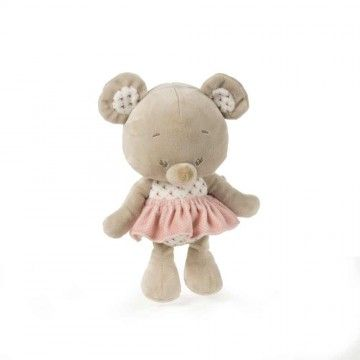 Peluche oso Mousy rosa