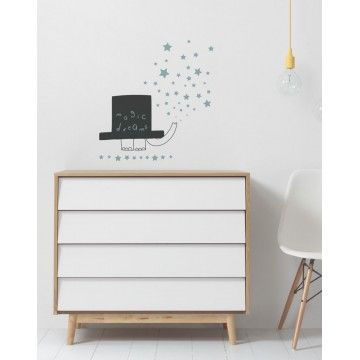 Vinilo infantil decorativo de pared Urban