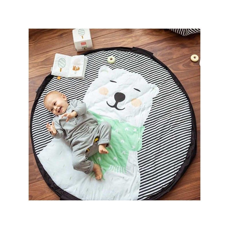 Manta 3 en 1 Play&Go Soft Oso polar