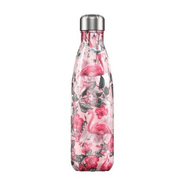 Botella termica Chilly`s flamingo 500ml