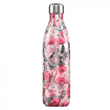 Botella termica Chilly`s flamingo 750ml