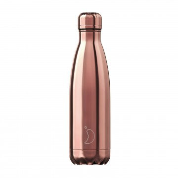 Botella termica Chilly`s Oro rosa 500ml