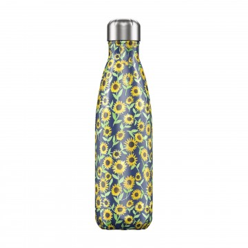 Botella termica Chilly`s Girasoles 500ml