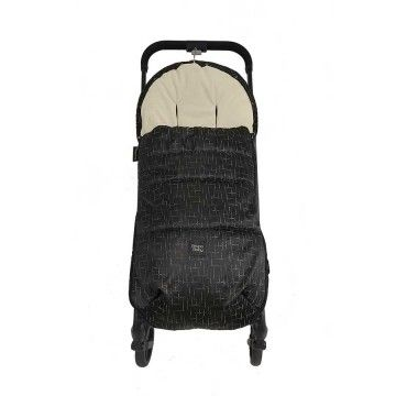Saco de invierno universal Black and golden Grupo Baby
