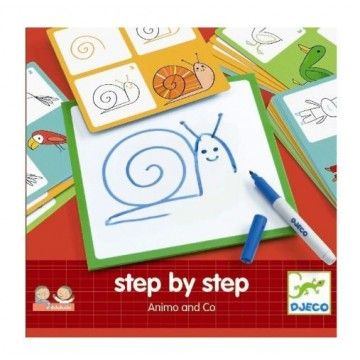 Dibujo Step by Step Animals and Co