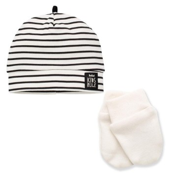 Conjunto gorro y manoplas Happy Day 0-1 m