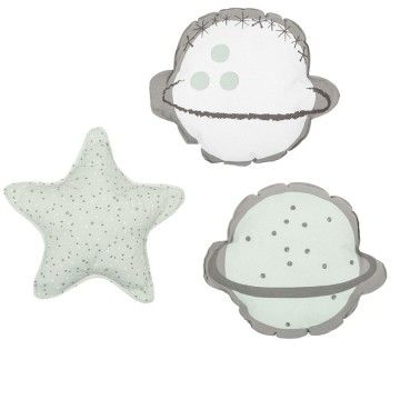 Set 3 cojines Planet de Bimbi Dreams