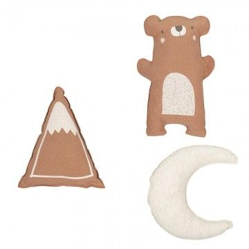 Set 3 cojines Explorer de Bimbi Dreams