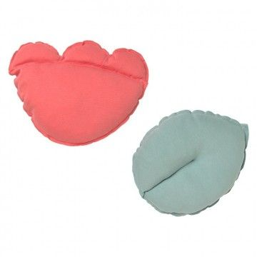 Set de 2 cojines decorativos Bloom Baby Clic