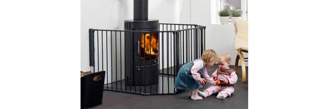 Protectores y barreras para beb s y ni os de cama de puerta bblandia - Protectores chimeneas para ninos ...