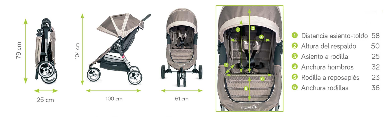 City Mini 3 Baby Jogger